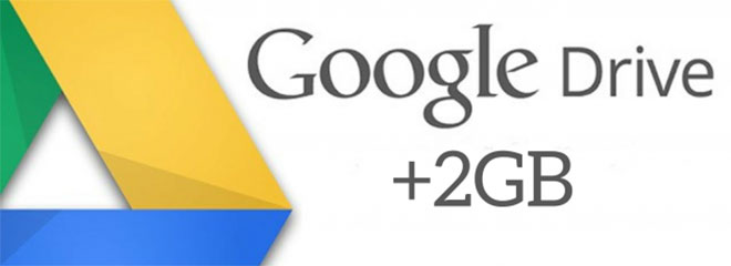 Get 2 GB of Google Drive Space for Free